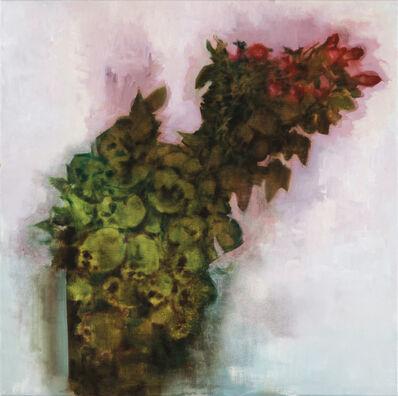 Attila Szűcs, 'Skulls and roses', 2017-2018