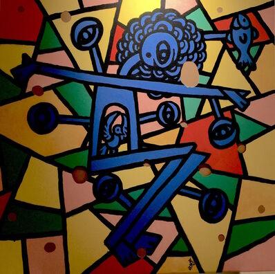 Ko Z, 'Selfporary 3 (Christ) ', 2016