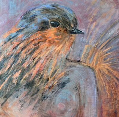 Eva Asquith Wilson, 'Bird self portrait', 2019