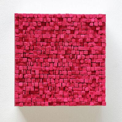 Reiner Seliger, 'Kreidebild magenta, klein', 2017