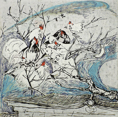 Chen Li, 'Chickens Singing in a Village Tree', 2002