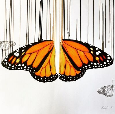 """Louise McNaught, 'Monarch """"(Remarque)'', 2020"""