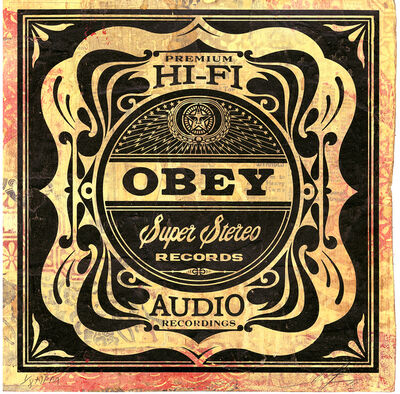 Shepard Fairey (OBEY), 'Super Stereo', 2013