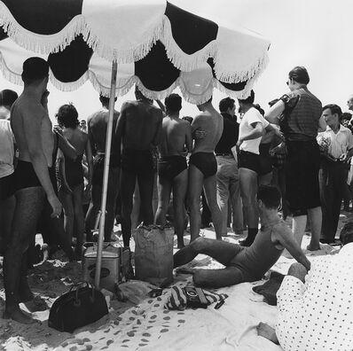 Peter Hujar, 'Crowd on the Beach at Riis Park', ca. 1956