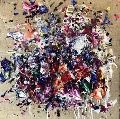 Ismael Lagares, 'Ocher Purple II', 2018
