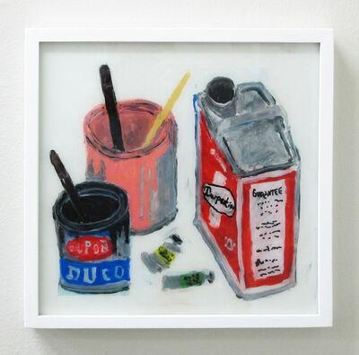 Rose Eken, 'Paint, Turpentine and Paint Tubes', 2016