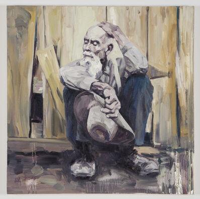 Hung Liu, 'Working Man #2', 2015-16
