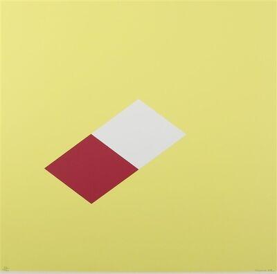 Marc Vaux, 'Untitled (Yellow)', 1969