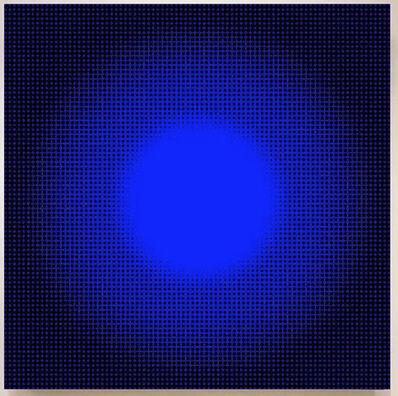 John Zoller, 'John Zoller, Blue Light', 2018
