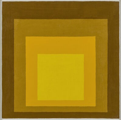 Josef Albers, 'Study for Homage to the Square', 1962