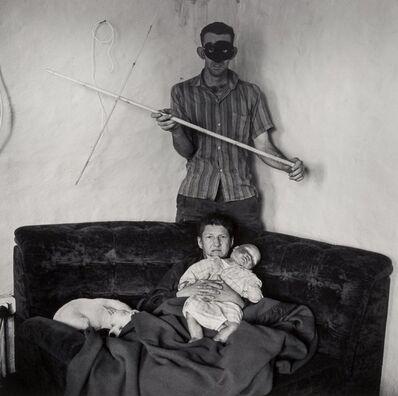 Roger Ballen, 'Sarie Holding Doll'