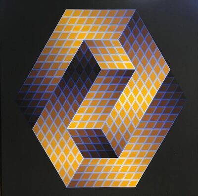 Victor Vasarely, 'Gestalt', 1969