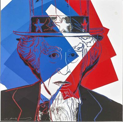 Andy Warhol, 'Uncle Sam, 1981 (#259, Myths)', 1981