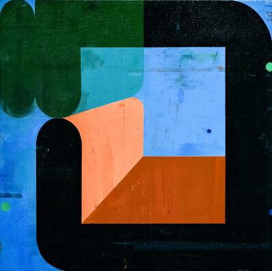 Deborah Zlotsky, 'Couple, Green and Black', N/A