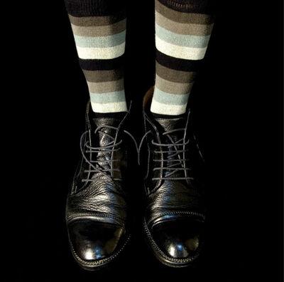 René Peña, 'Black Shoes', 2007