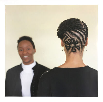 Sonya Clark, 'Hair Craft Project with Jasmine and Jameika', 2014