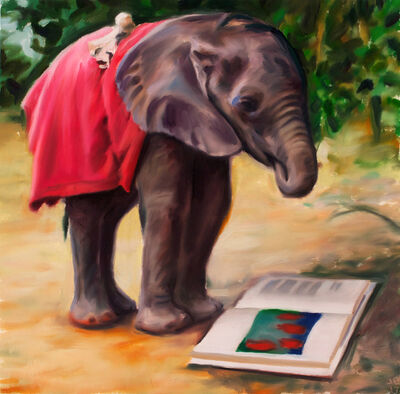 Jeffrey Beauchamp, 'A Portrait of the Artist as a Young Elephant', 2018