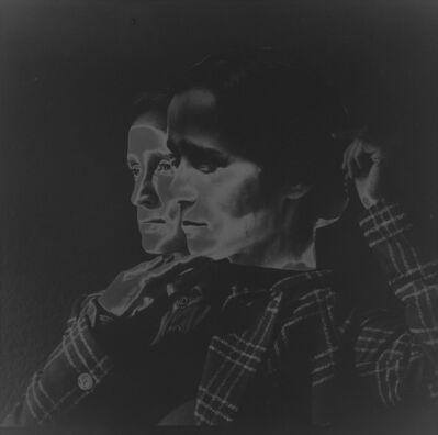 Yvonne Venegas, 'Self-Portrait Collage with My Twin', 2020