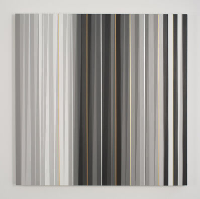 Gabriele Evertz, 'Grays + Metallics (Tallit)', 2014