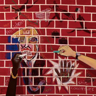 Richard Mudariki, 'The writing on the Wall', 2019