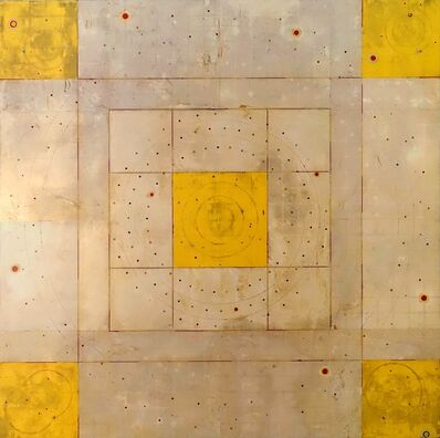 Kris Cox, 'Concentric Episode Series/ Yellow Corners '