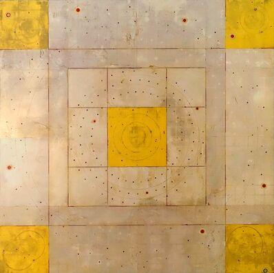 Kris Cox, 'Concentric Episode Series/ Yellow Corners '
