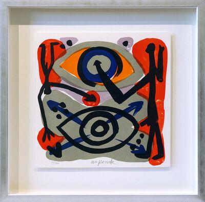 A.R. Penck, 'Eye-to-Eye', 1995
