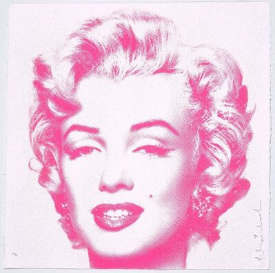 Mr. Brainwash, 'Marilyn Monroe (Diamond Girl)', 2016