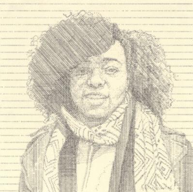 Leslie Nichols, 'Ebony', 2014