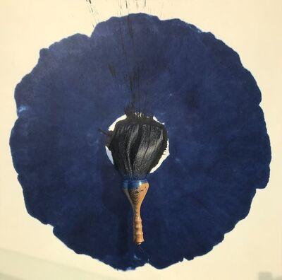 Lee Jung Woong (b. 1963), 'Brush- Blue', 2018