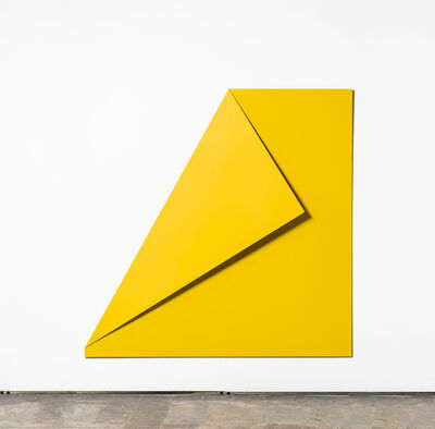 Sébastien de Ganay, 'XL Folded Flat Yellow 01', 2018
