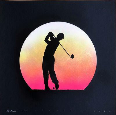 Otto Schade, 'Golf Player Selfie', N/A