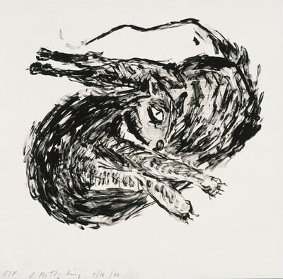 Susan Rothenberg, 'Twisted Cat', 2008