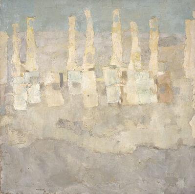 Ercole Monti, 'Plage Blanche', 1974