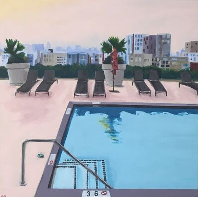 Nancy Benton, 'Rooftop Pool', 2019