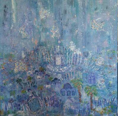 Orli Ziv, 'Jerusalem, Blue', 2019