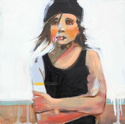 "Debbie Miller, '""Swim #12"" Girl in Black Bathing Suit with Folded Arms', 2010-2018"