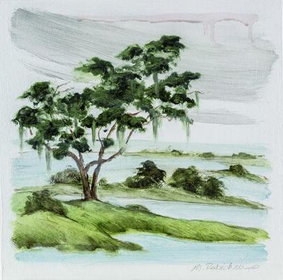 Marguerite Robichaux, 'Chenier Oak'