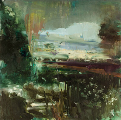 Edwige Fouvry, 'A la tombée de la nuit', 2018