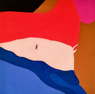 Kyla Kegler, 'Red Pants Blue', 2019
