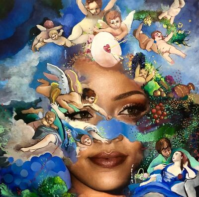 Jeanette Hayes, 'Earth Angel, Rihanna ', 2019