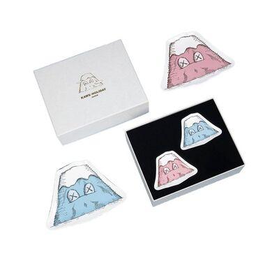 KAWS, 'KAWS: HOLIDAY Japan Mount Fuji Ceramic Plate Set (Set of 4), 2019', 2019