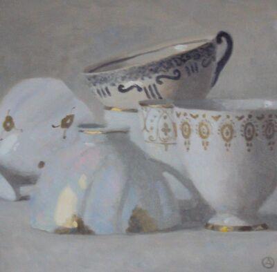 Olga Antonova, 'Composition of cups', 2015