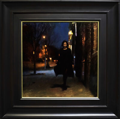 "Casey Baugh, '""Brooklyn Nocturne"" ', 2015"