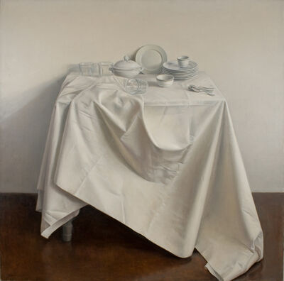 Raymond Han, 'Still Life with Draped Tablecloth', 1981