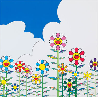 Takashi Murakami, 'Flowers 2', 2002