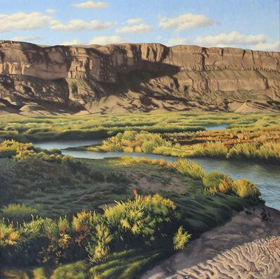 Garrett Middaugh, 'Rio Grande by the Sierra Ponce Cliffs'