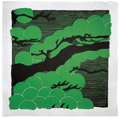 Donald Sultan, 'Japanese Pines', 2008