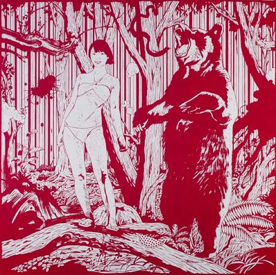 Kenichi Yokono, 'Girl and Bear', 2009