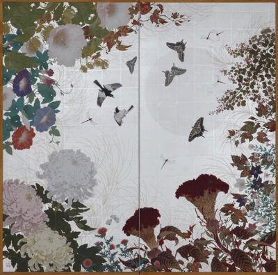 Nakano Daisuke, 'Playful Drama Under a White Moon', 2015